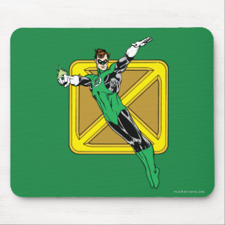 Green Lantern with Background Mousepads