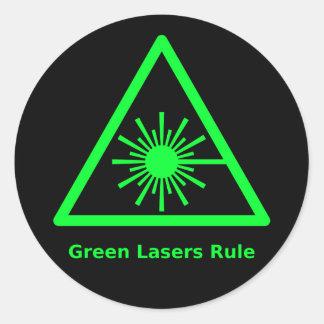 Green Laser Sticker
