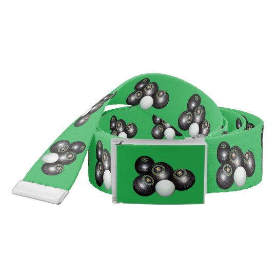 Green_Lawn_Bowls_Unisex_Belt_With_Buckle