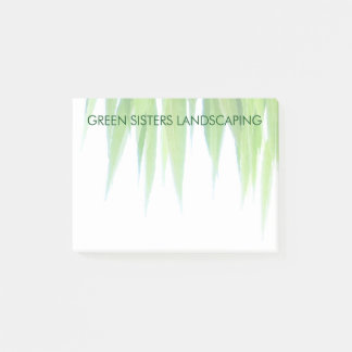 Green Leaf Canopy Earth Friendly Design Post-it Notes