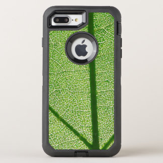Green Leaf Close Up OtterBox Defender iPhone 8 Plus/7 Plus Case