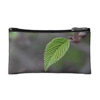 Green Leaf Cosmetic Bag