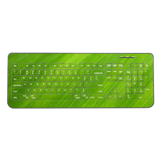 Green Leaf Custom Wireless Keyboard