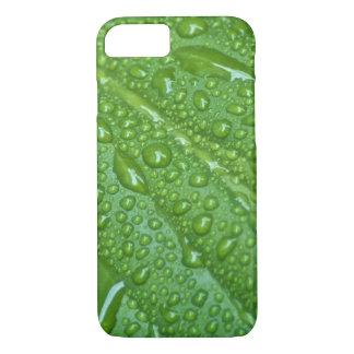 GREEN LEAF DROPS iPhone 7 CASE