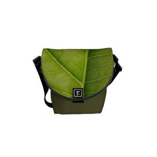 Green Leaf Nature Lover Courier Bag