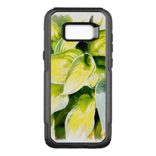 Green Leaf OtterBox Commuter Samsung Galaxy S8+ Case