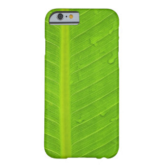 Green Leaf Water Drop Barely There iPhone 6 Case