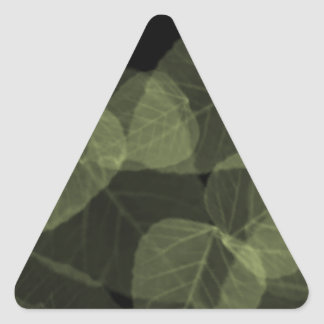 Green Leaf X-Ray.png Triangle Sticker