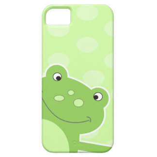 Green Leap Frog iPhone 5 Case
