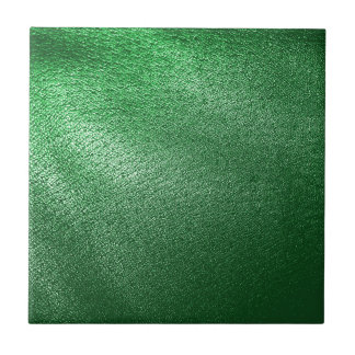 Green Leather Look Tile