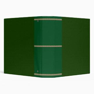 Green Leather Texture Binder