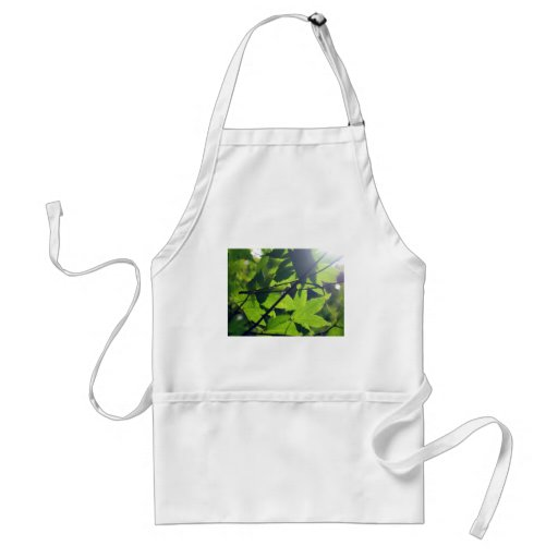 Green Leaves Apron