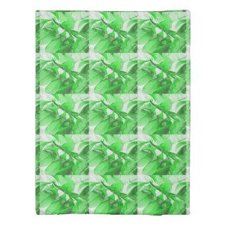 Green Leaves Duvet Cover