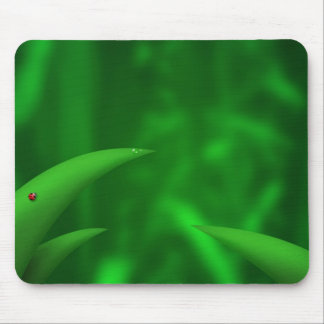 Green Leaves in the Jungle Mouse Pad