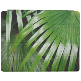 Green Leaves iPad Cover