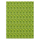 Green Leaves Leafy Patterns Tropical Palms Fronds Tablecloth