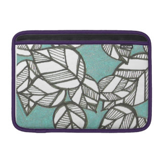 Green Leaves Macbook Sleeve