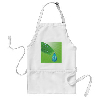 green leaves standard apron