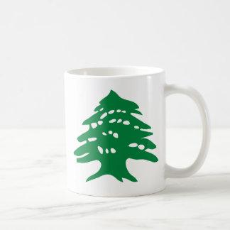 Green Lebanon Cedar Coffee Mug