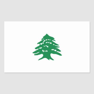 Green Lebanon Cedar Tree Flag