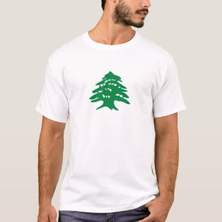 Green Lebanon Cedar Tree T-Shirt