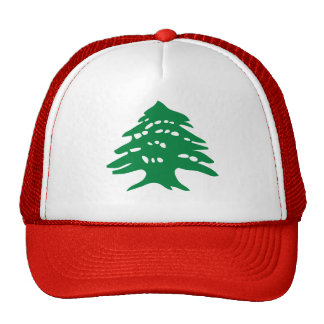 Green Lebanon Cedar Trucker Hat