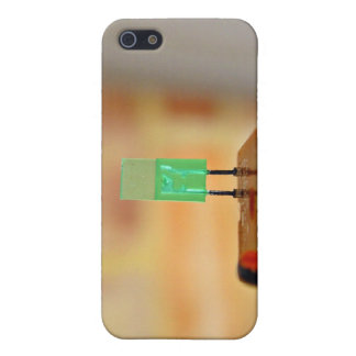 Green LED iPhone 5 Cases