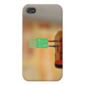 Green LED iPhone 4/4S Cases