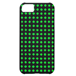 Green Led light Cover For iPhone 5C