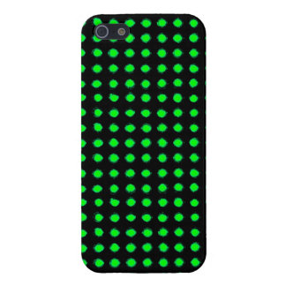 Green Led light iPhone 5/5S Cases