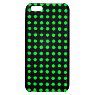 Green Led light iPhone 5C Covers
