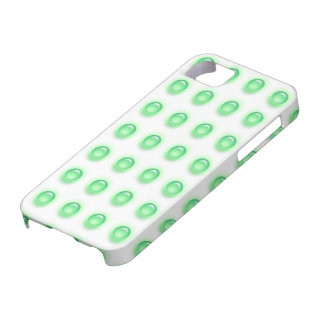 Green Leds on White iPhone 5 Cover
