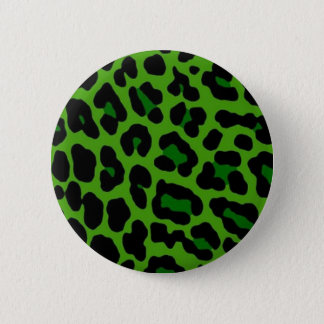 Green Leopard Pin