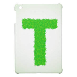 green letter iPad mini case