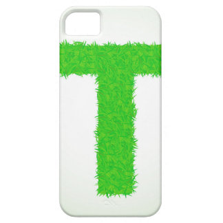 green letter iPhone 5 cover