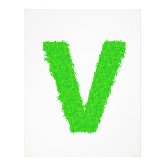 green letter letterhead