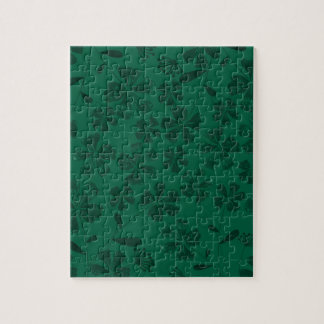 green lflowers jigsaw puzzle
