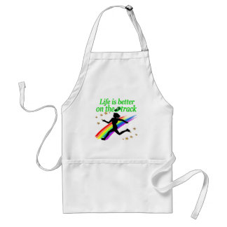 GREEN LIFE IS BETTER ON THE TRACK DESIGN STANDARD APRON