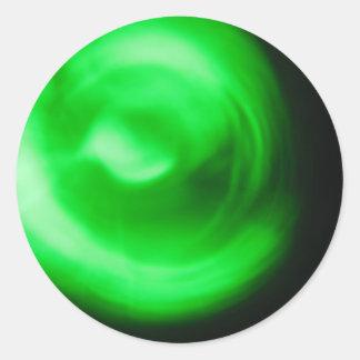 Green Light Go! Good Job! Student Reward Classic Round Sticker