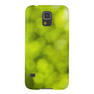 Green  Light Sparkles Design Galaxy S5 Covers
