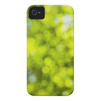 Green  Light Sparkles Design iPhone 4 Covers