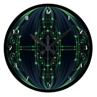 Green Light Technology Wall Clock