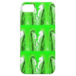 Green lightning iPhone 5 case
