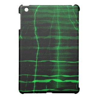 Green lightning  wave  - ipad case