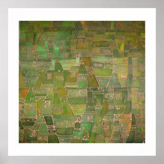 Green Like Klee Poster