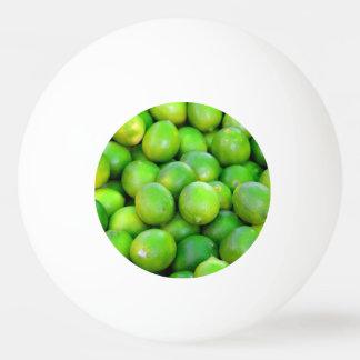 Green Limes pattern Ping Pong Ball