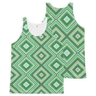 Green lines design vest