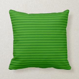 Green lines inline Decor-Soft Pillows