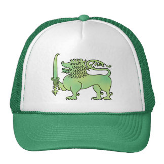 Green Lion Sri Lanka hat