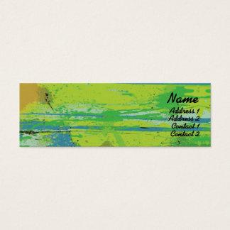 Green Lips - Skinny Mini Business Card